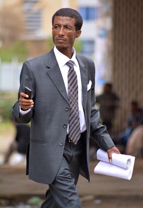 african businessman